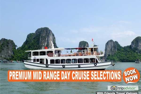 Friends Travel Vietnam Halong Bay Day Cruise Tour