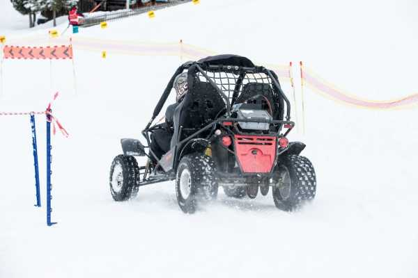 BuggyPark by HB-Adventure Switzerland Reservation für ein Buggy 25 Minuten (Winter)