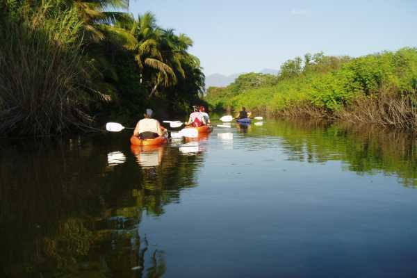 KAYAKING AT LA BOCA ESTUARY