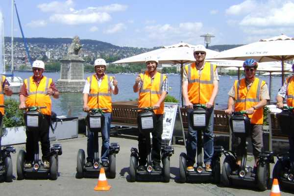 Segway City Tours by HB-Adventure Public Segway Tour Zürich (täglich Mi-So)
