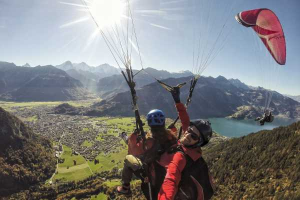 Skywings Paragliding Beatenberg Paragliding - The Sensational