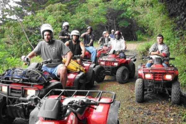 Black stallion ranch ATV,ZIP & BBQ SUPER COMBO