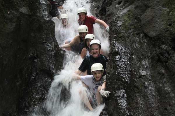 Red Lava TSC Canyoning