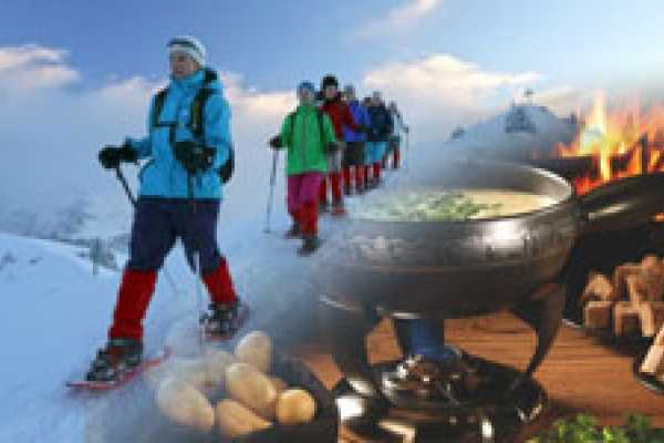 Andermatt Adventure - Crown of Alps AG Schneeschuhwandern (3.5h) mit Fondue