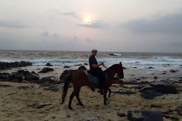 I-land Aruba Tours Sunrise Surf Horseback ride