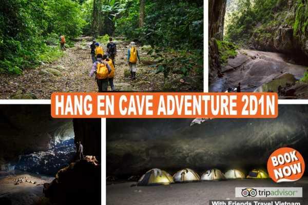 Friends Travel Vietnam The Hang En Cave Experience 2D1N