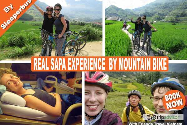 Friends Travel Vietnam Real Sapa Experience 2D-1N by Mountain Bike with Sleeper Bus