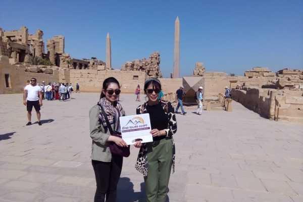 EMO TOURS EGYPT UNE JOURNÉE TOURNÉE AU LUXOR DU CAIRE PAR AVION