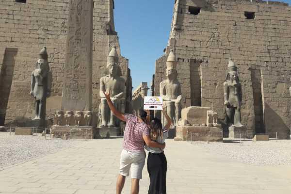 EMO TOURS EGYPT Tour de un día a Luxor desde el Cairo en avión