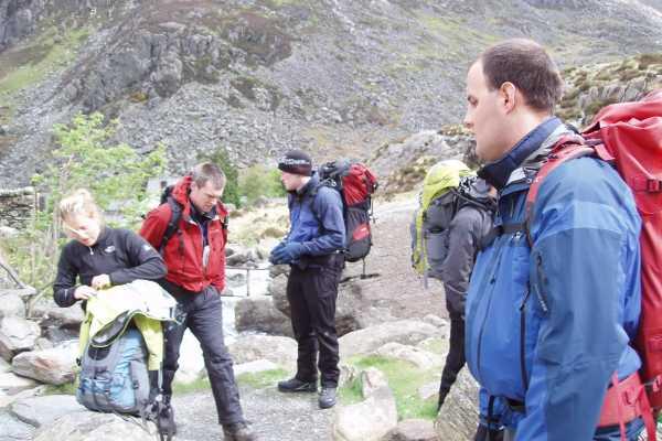 Spa Treks - Activ Adventure Snowdon mountain training weekend