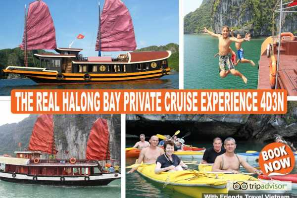 Friends Travel Vietnam The Real Halong Bay Private Cruise & Island Experience 4D3N | Option B