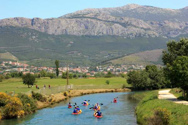 Iris Adventures Croatia Sea + river kayaking Split