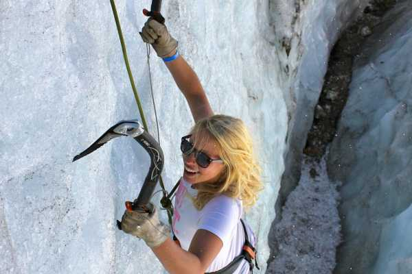 Swiss Alpine Guides Glacier Ice Climbing - Full day