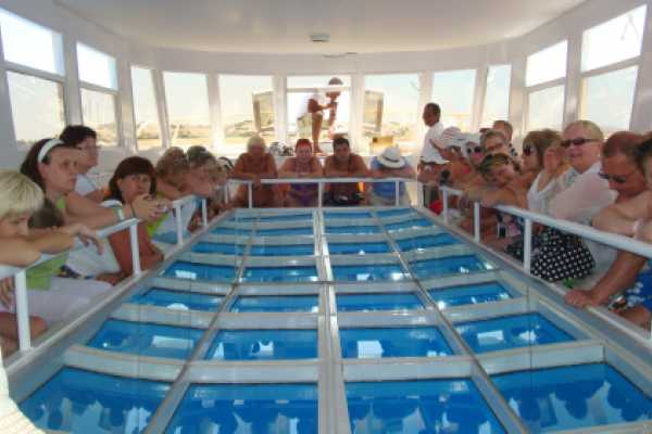 EMO TOURS EGYPT GLASBODENBOOT IN SHARM EL SHEIKH
