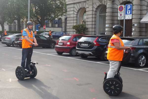 "Segway City Tours by HB-Adventure ""Public Segway Tour Zurich"""