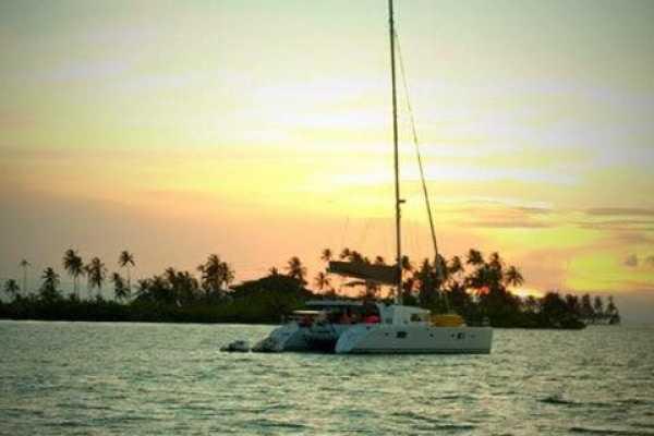 BOAT TO COLOMBIA - Gitano Del Mar Catamaran