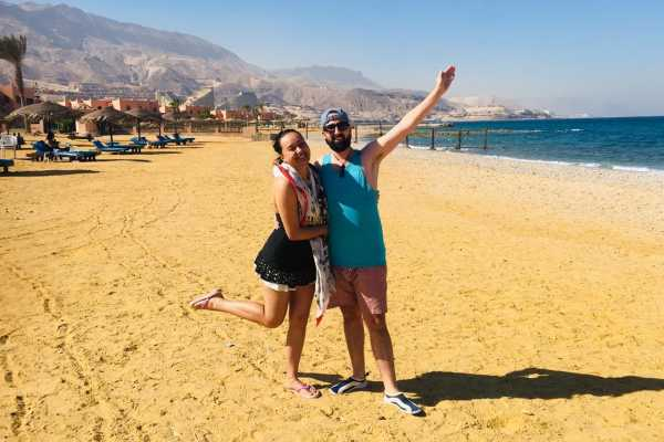 EMO TOURS EGYPT Day tour to Red sea El Ain Sohkna  from Cairo