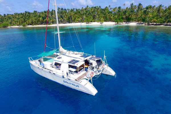Cacique Cruiser BOAT TO COLOMBIA - Santana Catamaran