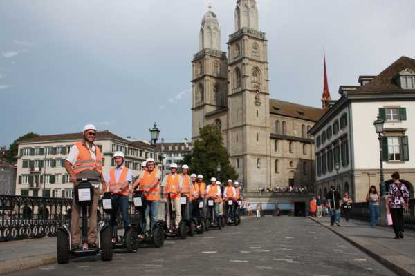 Segway City Tours by HB-Adventure Segway City Tour Zürich Gold