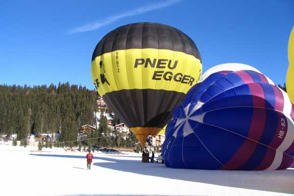 HB Adventure Switzerland AG Exklusiv: Private VIP  Heissluftballonfahrt
