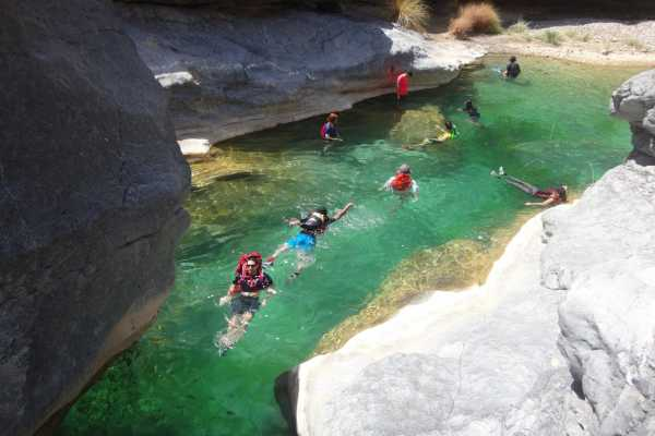Adventurati Outdoors White Wadi Canyoning - Oman
