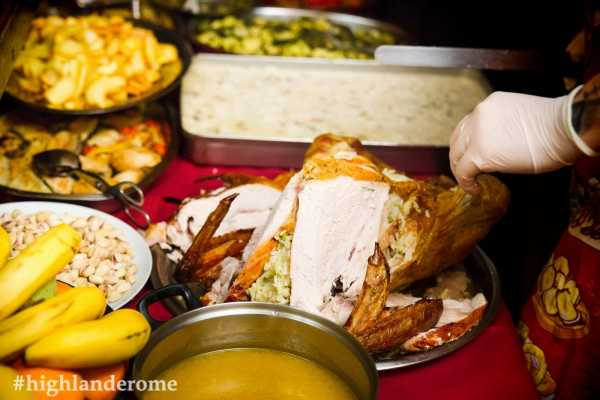 Best of Rome Ltd. Thanksgiving Dinner 2019 at the Highlander Rome!
