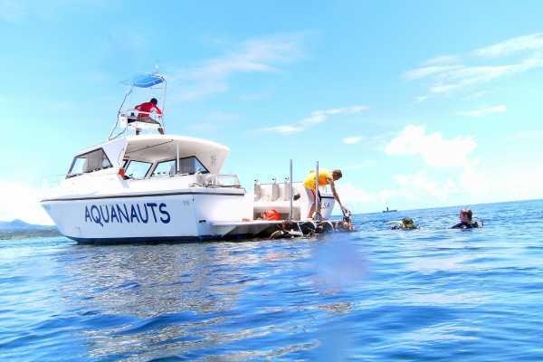 Aquanauts Grenada 2 Tank Morning Boat Trip
