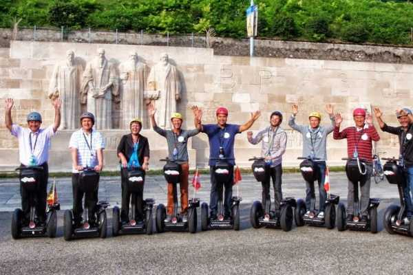 Segway City Tours by HB-Adventure Segway City Tour Genf