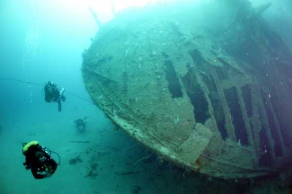 Aquanauts Grenada 9. PADI Wreck Diving Course