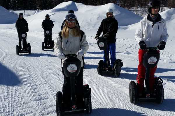 Segway City Tours by HB-Adventure Segway Tour St. Moritz /  Engadine