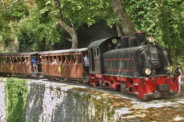 Leventis 360 IKE The Little Train of Pelion