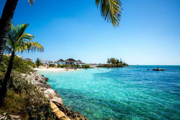 Pearl Island Bahamas Beach Escape incl. Lunch