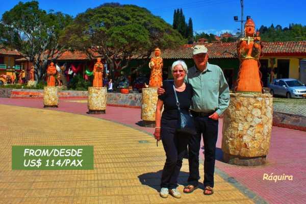 Bogota Henry Tours RÁQUIRA CRAFTS 11 HOURS PRIVATE TOUR