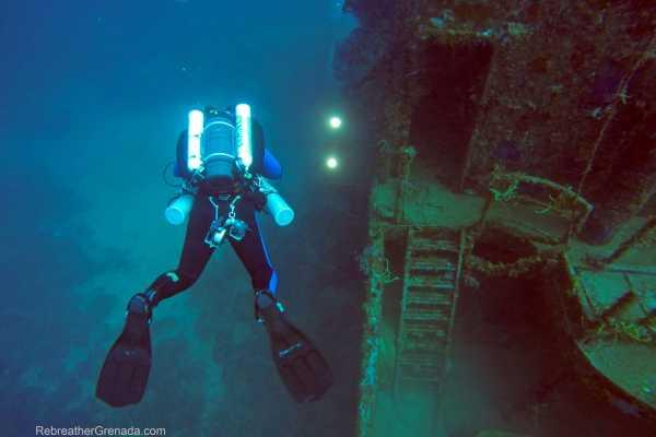 Aquanauts Grenada 9. PADI TEC 60 CCR Diver