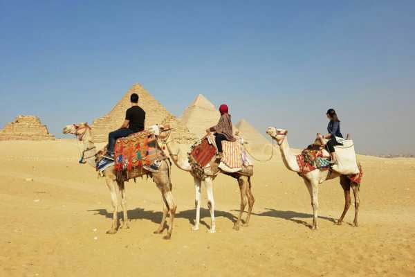 EMO TOURS EGYPT KAIRO TOUREN ZU GIZA PYRAMIDE INKLUSIVE CAMEL RIDE & ÄGYPTISCHEN MUSEUM