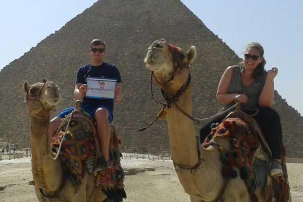 EMO TOURS EGYPT JOURNEE DE PASSAGE AUX PYRAMIDES DE GIZA AVEC CAMEL RIDE & MUSEE EGYPTIEN