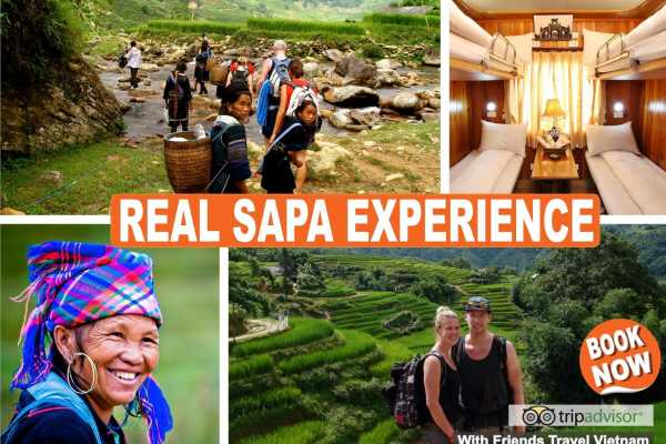 Friends Travel Vietnam 4D/3N Real Sapa Experience by Train (Private Tour)