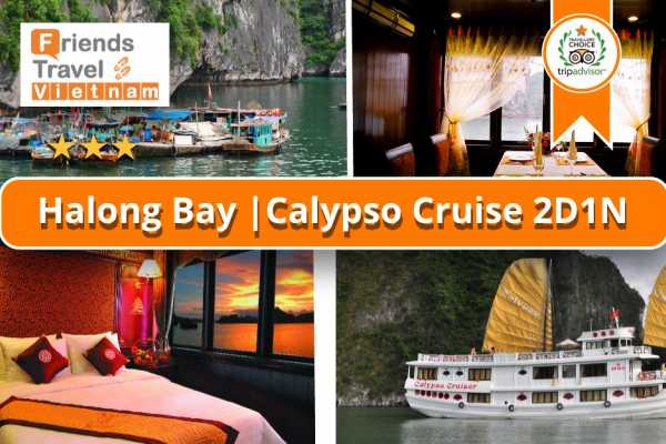 Friends Travel Vietnam Calypso Cruise | Halong Bay 2D1N