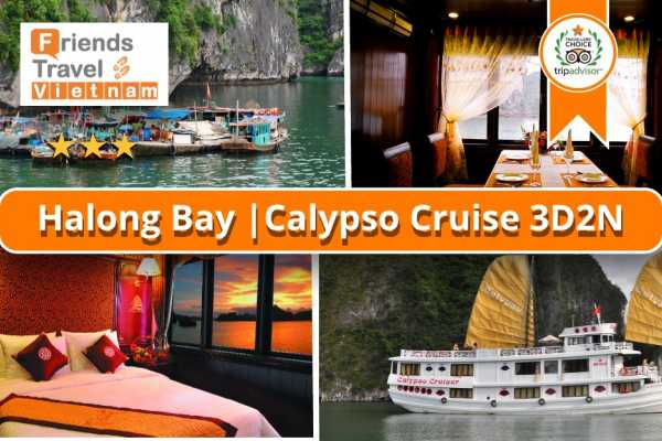 Friends Travel Vietnam Calypso Cruise | Ha Long Bay 3D2N