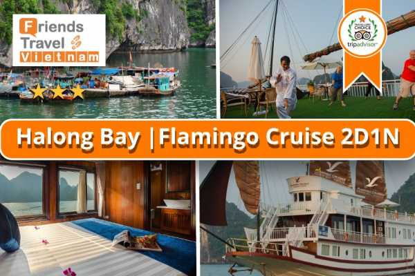 Friends Travel Vietnam Flamingo Cruise | Halong Bay 2D1N