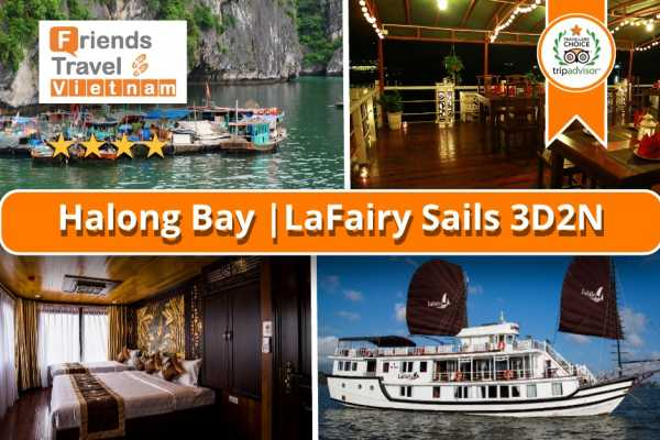 Friends Travel Vietnam LaFairy Sails | Halong Bay 3D2N