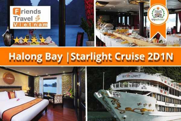 Friends Travel Vietnam Starlight Cruise | 2D1N Halong Bay