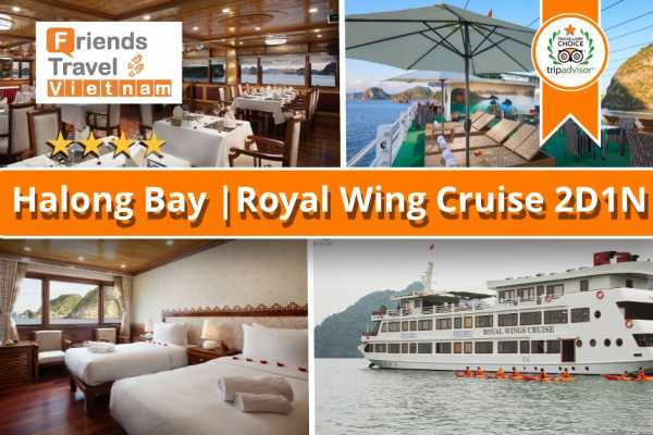 Friends Travel Vietnam Royal Wings | 2D1N Halong Bay