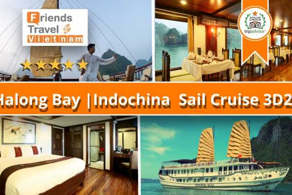 Friends Travel Vietnam Indochina Sails | Halong Bay 3D2N