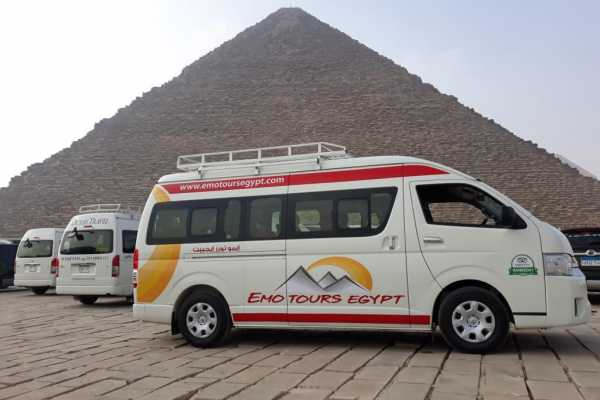 EMO TOURS EGYPT TRANSFER PRIVATO DA ZONA PIRAMIDI ALL'AEROPORTO DEL CAIRO