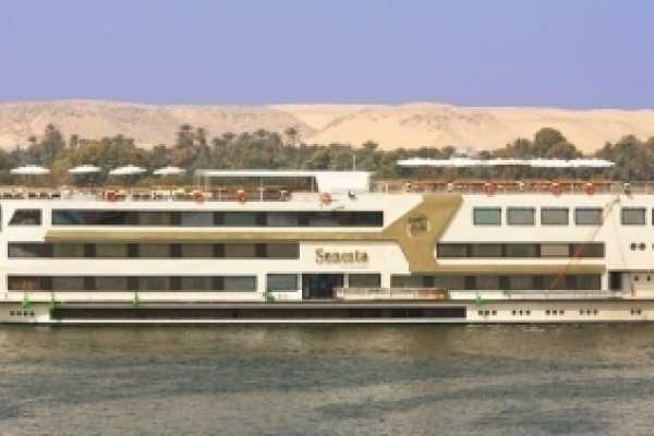EMO TOURS EGYPT ÄGYPTEN NIL-KREUZFAHRT FAHRTEN VON ASSUAN NACH LUXOR AUF SONESTA NILE GODDESS