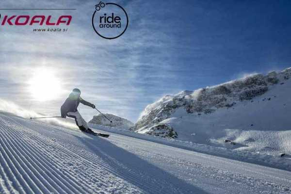 Ride around Koala Ski Test around Slovenia