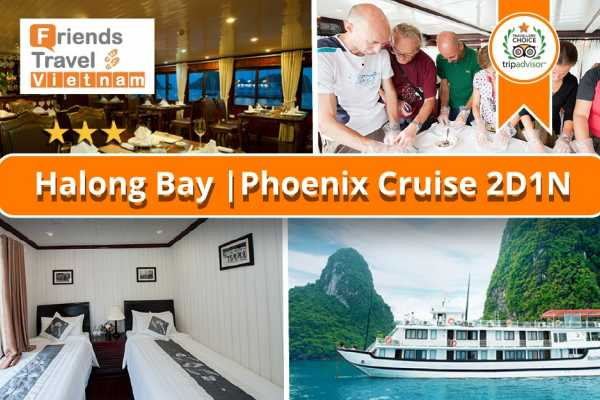 Friends Travel Vietnam Phoenix Cruise | 2D1N Halong Bay