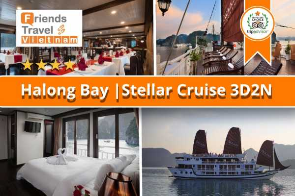 Friends Travel Vietnam Stellar Cruise | Halong Bay 3D2N