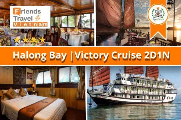Friends Travel Vietnam Victory Cruise | 2D1N Halong Bay